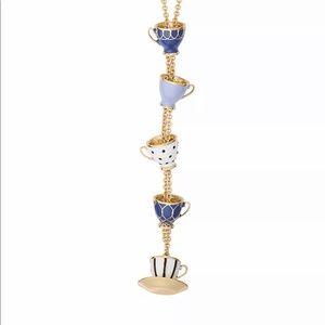kate spade Jewelry - ♣️ Kate Spade TeaTime Pendant Necklace
